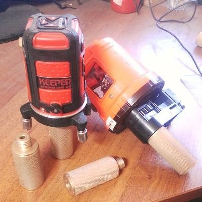 переходник для лазерного нивелира