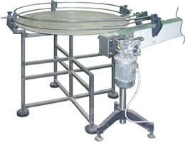 Подающий стол с индивидуальным приводом