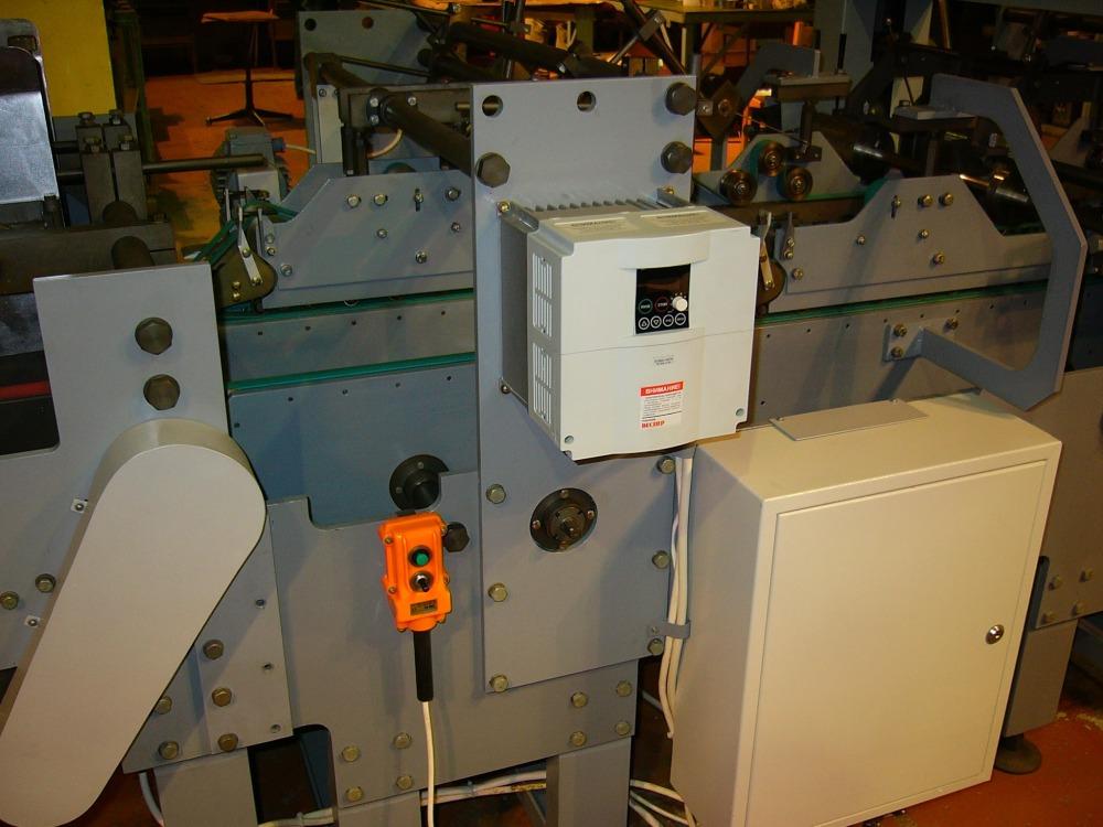 Фальцевально-склеевающая машина ФСМ-04А